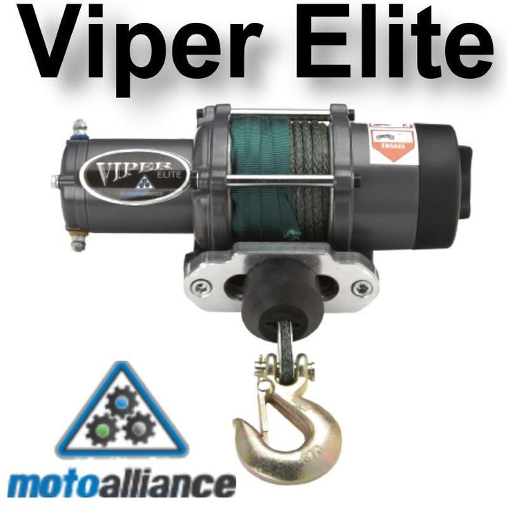 VIPER ELITE 4000lb Winch & Mount with Amsteel®-Blue for POLARIS General
