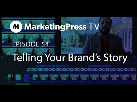 Telling Your Brand's Story | Marketing Press TV : Episode 54: Greg Taylor of Marketing Press talks about different brand stories from the same brand and how they intertwine and work together. #marketingpress #branding #marketingtips