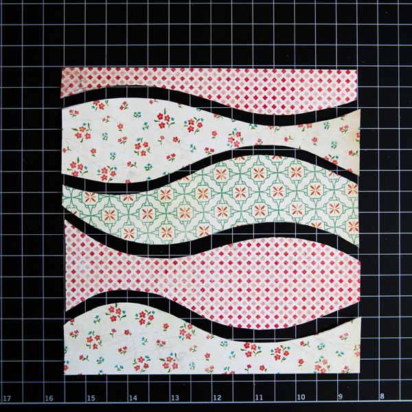 My Creative Scrapbook: How to Make Layered Patterned Paper Waves by Guest Designer Stacy Cohen