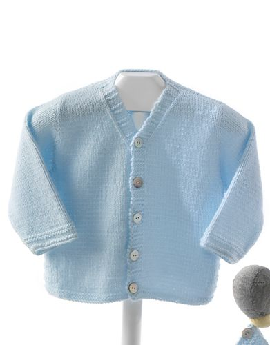 Book Special Peques 5 Autumn / Winter | 43: Baby Jacket | Light sky blue