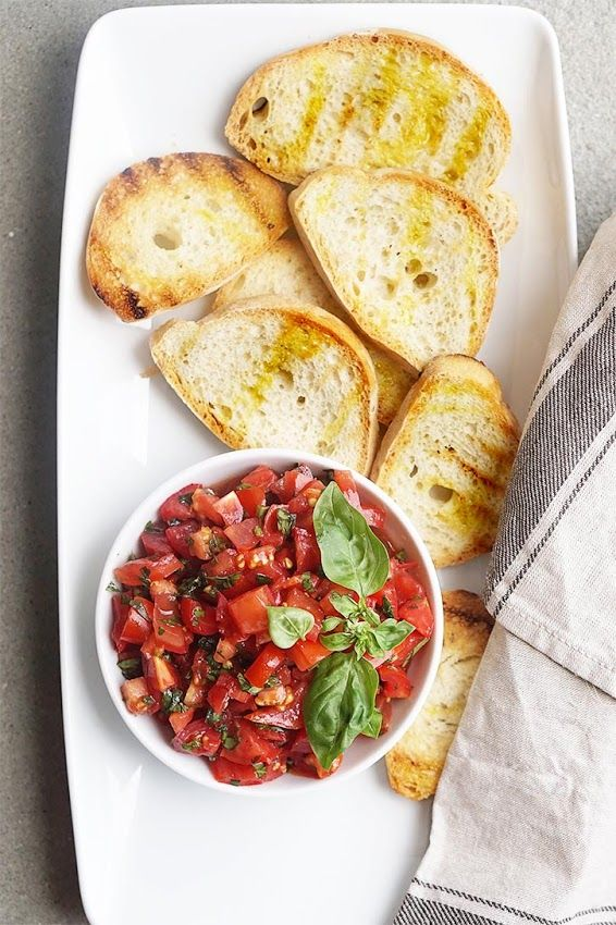 How to Make Bruschetta al Pomodoro