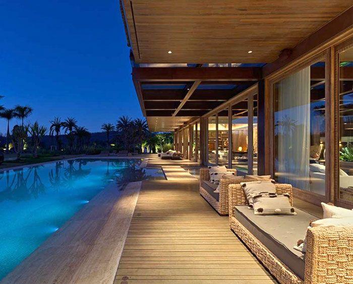 Luxurious Casa Nova Lima with Dramatic Landscape Compositions spacious mansion casa nova lima