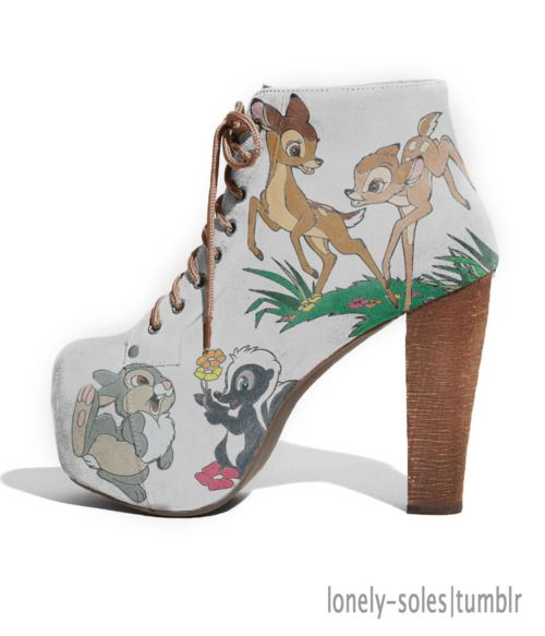 I would like these....might not be able to walk in them But i would like them to be sitting in my room looking oh so very pretty!!!