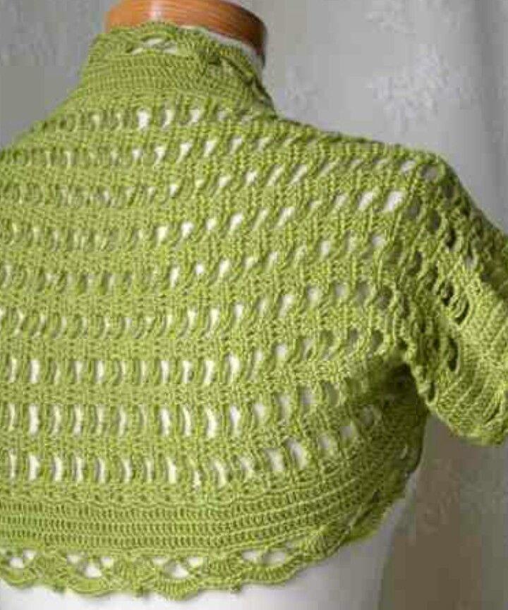 150 besten Crochet boleros/shrugs/vests #3 Bilder auf Pinterest ...
