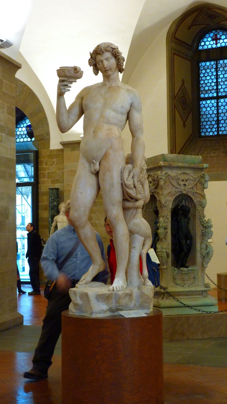 The marvellous Michelangelo's Baco, Museo Bargello