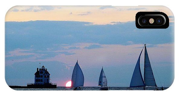 https://fineartamerica.com/products/3-sail-at-sunset-lake-erie-nancy-spirakus-iphone-case-cover.html?phoneCaseType=iphone10