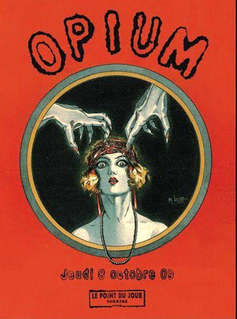 Opium est un Cabarécital conçu et réalisé par Christine Brotons (chant) et Albert Tovi (accordéon).1909