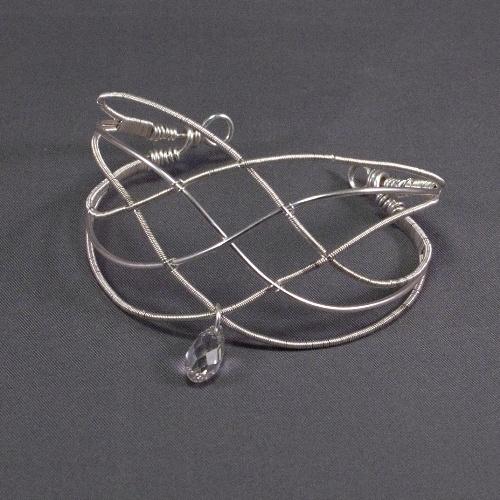 Queen ANNE - Silver Cuff Bracelet -- work of art! by Mademoiselle M