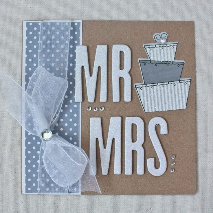 Handmade Wedding Card! See more at: www.facebook.com/LittleSomethingsCraftingCo