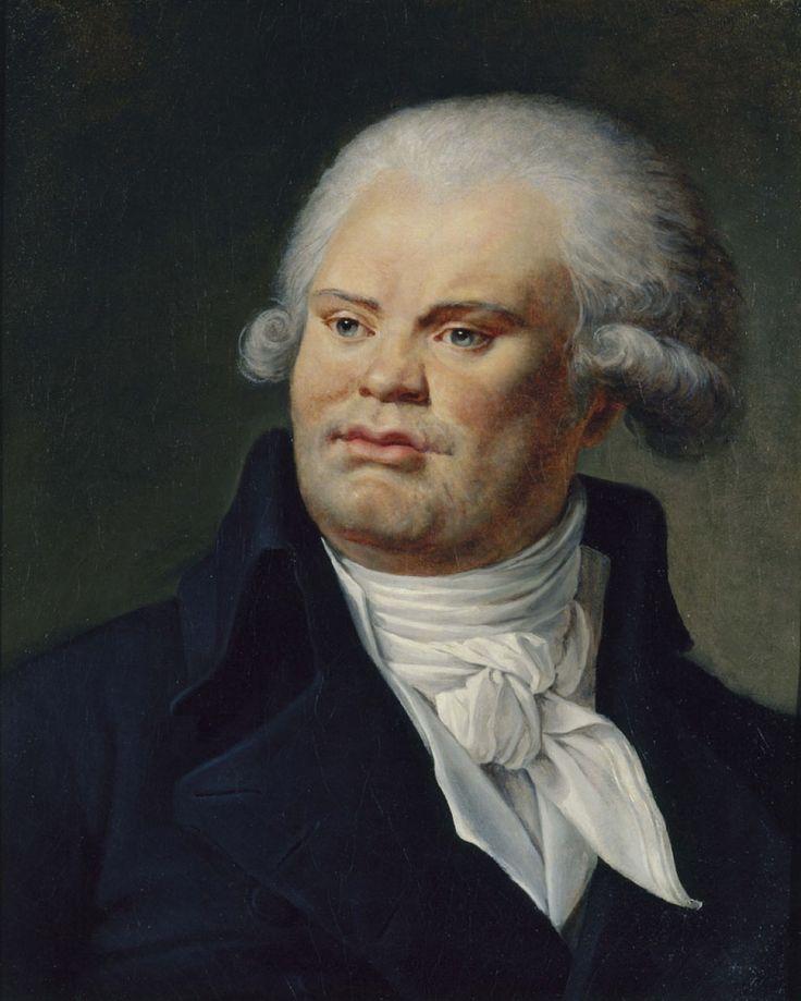 danton | Portrait de Georges Danton (1759-1794) | Musée Carnavalet - Histoire ...