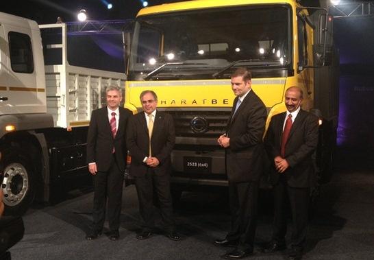 Bharat Benz 2523R, 3123R, 2523C in India