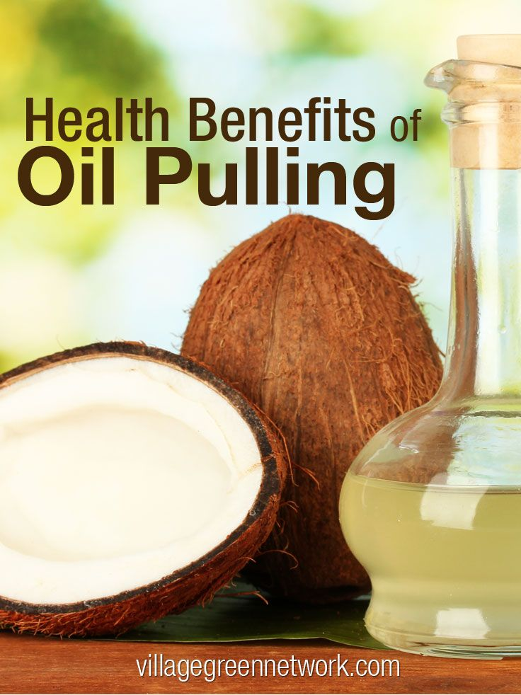 Health Benefits of Oil Pulling