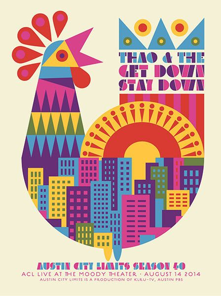 GigPosters.com - Thao & The Get Down Stay Down