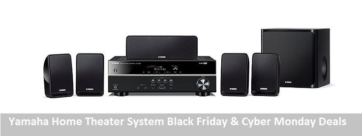 Yamaha Home Theater System Black Friday and Cyber Monday Deals