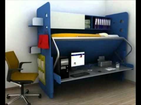 (1) Cama Escondida Ideas y Muebles Bogota D.C. Colombia - YouTube
