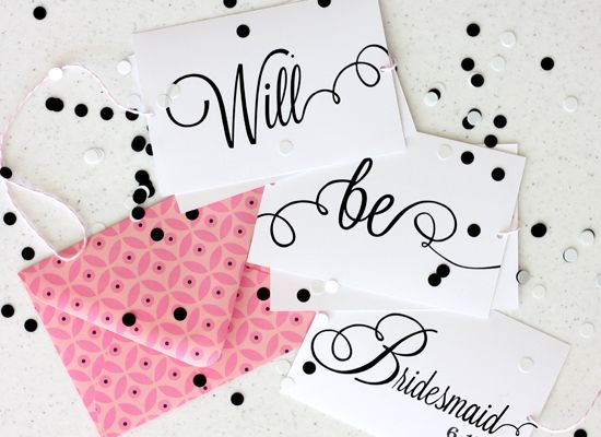 7 Creative Ways To Propose To Your Bridesmaids