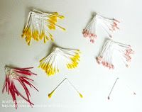 How to make stamens for flowers!