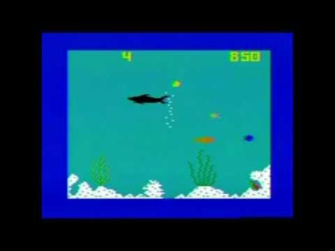 SHARK! SHARK! INTELLIVISION REVIEW AND GAMEPLAY