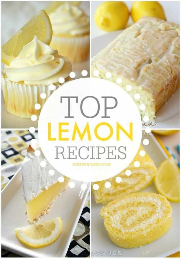 Lemon Dessert Recipes | 9 Yummy Treats That'll Brighten Your Day