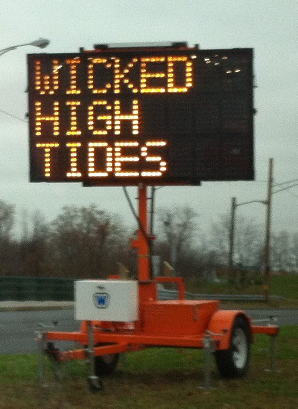 only in Maine....wicked!! Translation for everyone not from Maine - Wicked can mean cool, very, awesome, etc. In this instance it means VERY high tides.