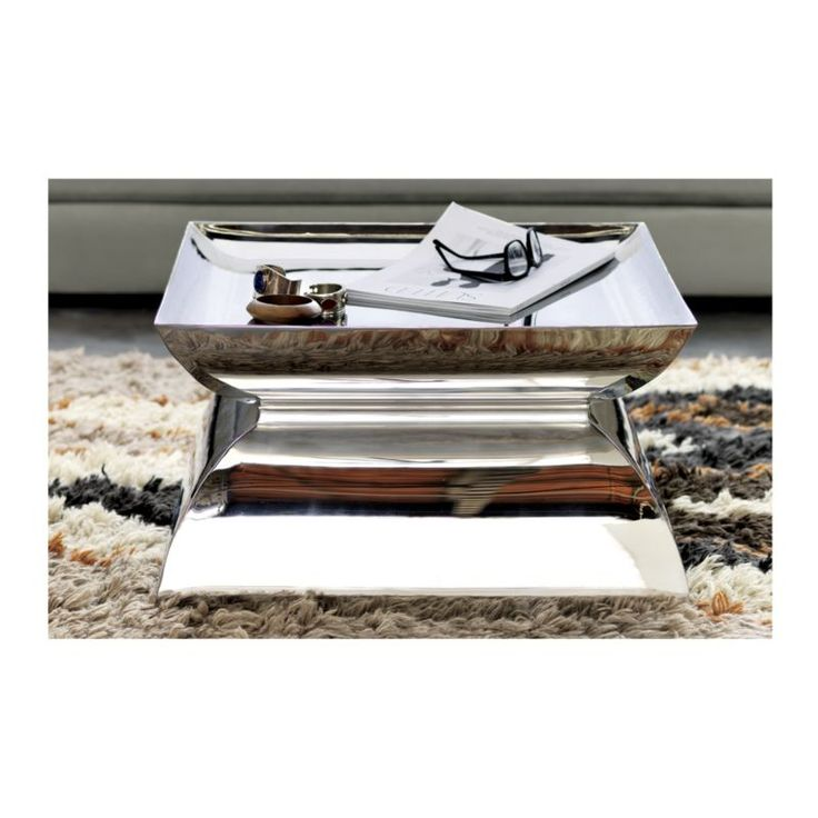catru pedestal table | CB2