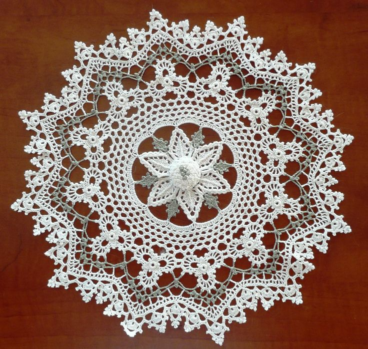 free crochet doily patterns | 46 Irish Mystique Doily                                                                                                                                                                                 More