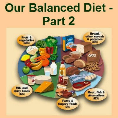 Food variety and a healthy diet