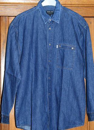 À vendre sur #vintedfrance ! http://www.vinted.fr/mode-hommes/chemises/28025400-tres-belle-chemise-jean-homme-t-l-marque-scott-fox-tbe