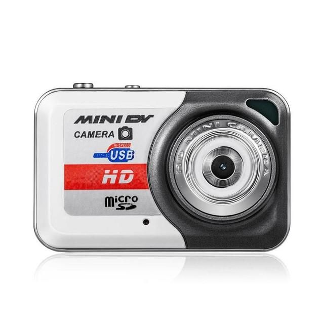 HD Ultra Portable 1280*1024 Mini Camera X6 Video Recorder Digital Small Cam Support TF Card Micro Secure Digital Memory Card