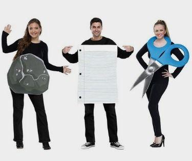 Rock Paper Scissors Costume - Standard - Amazon http://fave.co/2dLFFKq