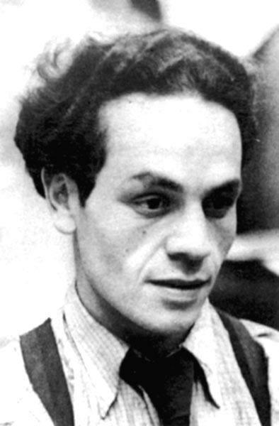 Nicanor Parra en su juventud.