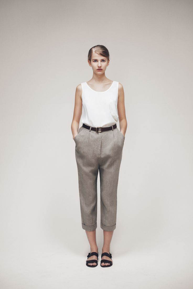 Simonetta Top, Ring Belt and Rammy Trousers | Samuji SS15 Classic Collection