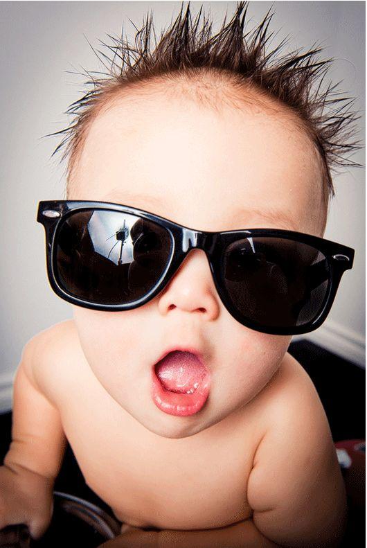 Beautiful ideas for baby photos
