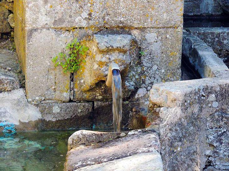Santa Fiora, Tuscany- An ancient aquaduct system still exists. #santafiora, #tuscany