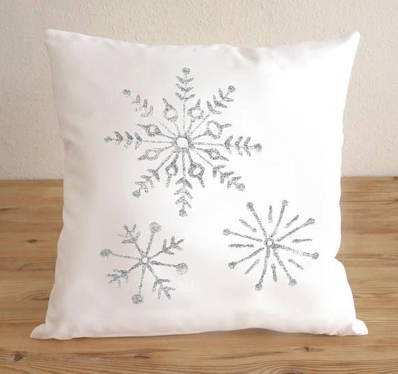 Christmas Decoration Pillow Covers Snowflake Christmas
