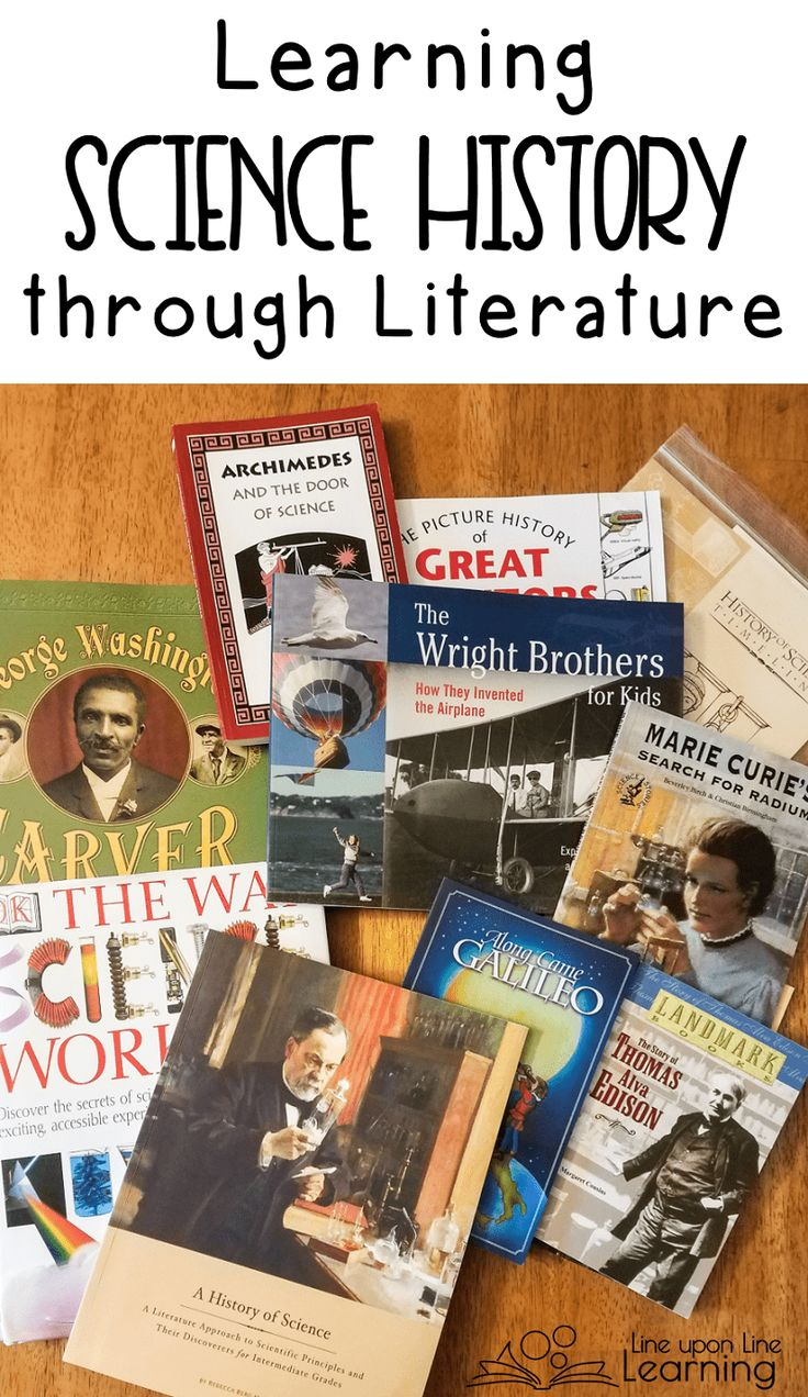 Learning science history through a literature-rich curriculum is the perfect compromise for a history-loving mom and a science-loving student.