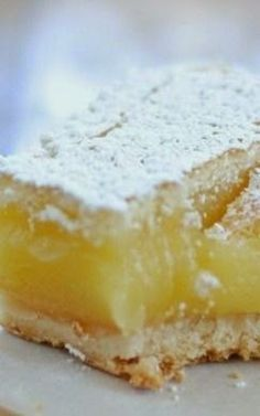 Ina Garten's Lemon Bars - The crust is incredibly buttery in the most delicious way, and it pairs perfectly with the lemon..