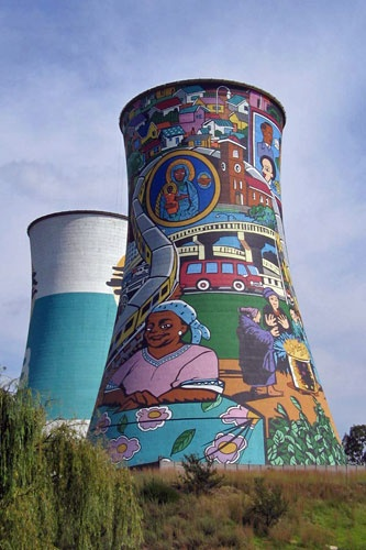 One of Soweto's most famous landmarks