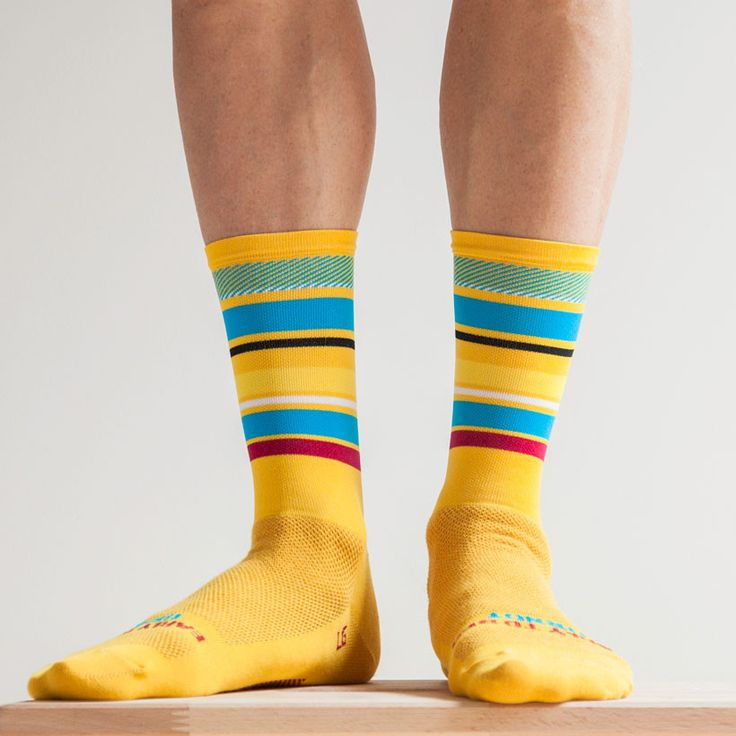 From yellow to gold… Ornot reintroduces the new Golden Pavé Road Socks