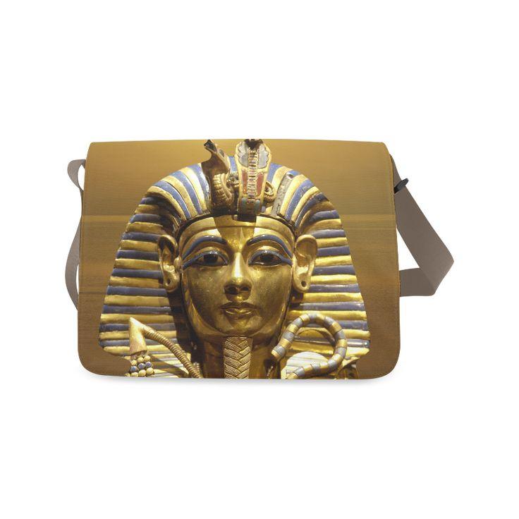 Egypt King Tut Messenger Bag. FREE Shipping. #artsadd #bags #egypt