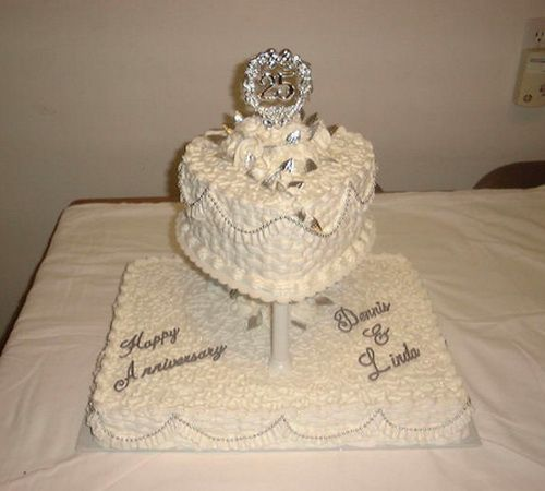 25th Wedding Anniversary Cake Ideas: 1000+ Images About Getting 25th Wedding Anniversary Cakes