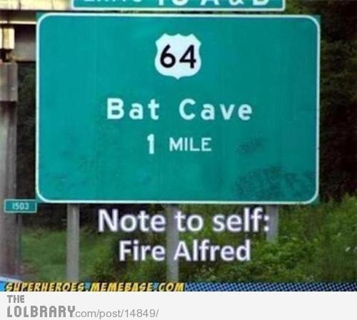 Fire Alfred!: Fire Alfred, Bats, Funny Stuff, Humor, Batman