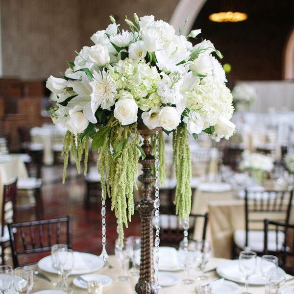 Букет из белых эустом, роз, гортензии, лилий и хризантем, амаранта и - фото 2647177 BasketBox - оформление и декор