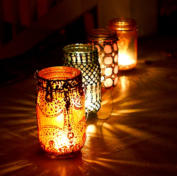 This Lantern Inspired House Design Lights Up A California: Mason Jar Decor, Boho Lighting Hanging Mason Jar Lantern