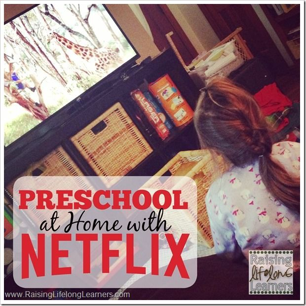 Do you have preschoolers at home? Raising Lifelong Learners has a FREE clickable pdf download full of fabulous preschool educational shows on Netflix, the s