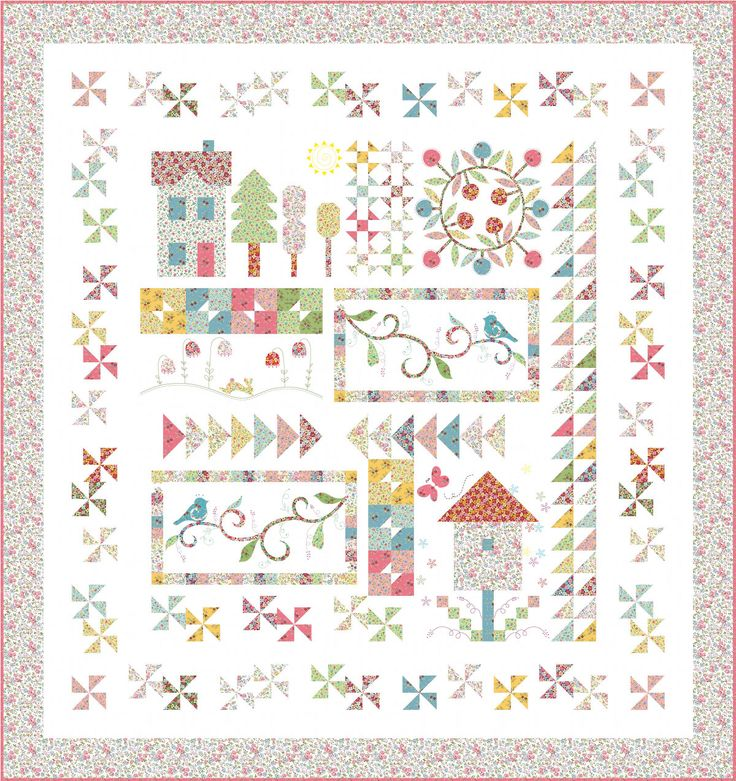 Free Quilting Patterns For Spring : 15 best images about Free BOMs on Pinterest Quilt pattern, Block of the month and Sampler quilts