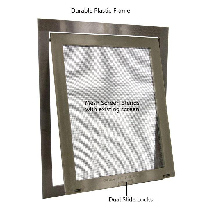 Petsafe Pet Screen Door Dog And Cat Door For Screen Door Window And Porch Use Ad Screen