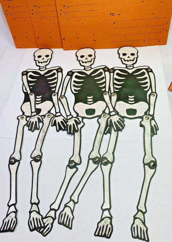 2020 Martha Stewart Halloween Details about Martha Stewart Halloween 3 Articulated Skeleton