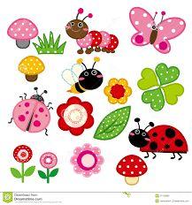 Resultado de imagen para cute insects clipart