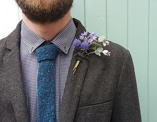Tweed Tie by Jem Weston | Ravelry